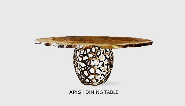 Maison et Objet 2013: 10 Best Exhibitors Maison et Objet Maison et Objet 2013: 10 Best Exhibitors brabbu apis dining table
