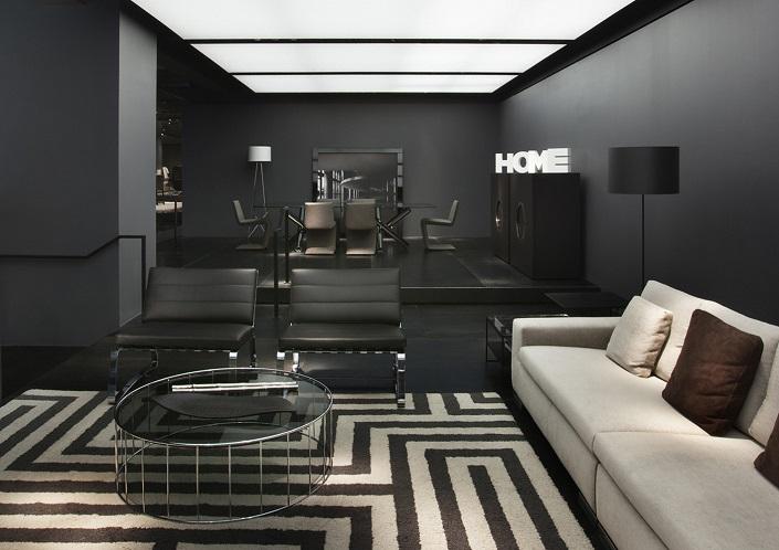 Minotti New York Store with Delightfull Unique Lamps Interior Design  Interior Design News: Minotti Partnership