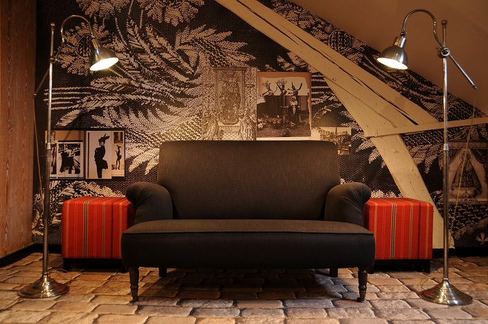 Best Fashion Designer Hotels and Suites, Hotel Notre Dame in Paris designed by Christian Lacroix