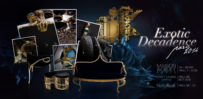 exotic decadence at maison et objet  US Design Among the Top at Paris Design Week exotic decadence at maison et objet