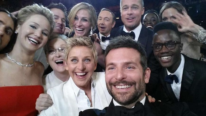 oscars 2014 selfie retweet record  Oscars 2014: The winners, their acceptance speeches and the most memorable moments of the night oscar 2014 selfie retweet record