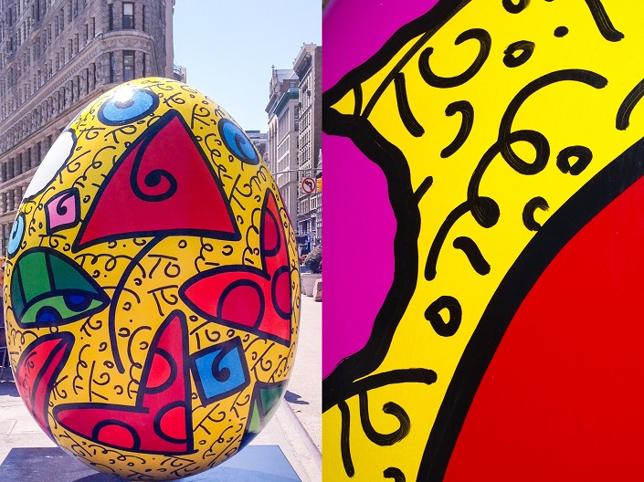 Fabergé The Big Egg Hunt New York 2014 fabergé easter eggs Fabergé Easter eggs designed by famous artists takeover New York the faberge big egg hunt new york easter martin handford romero britto