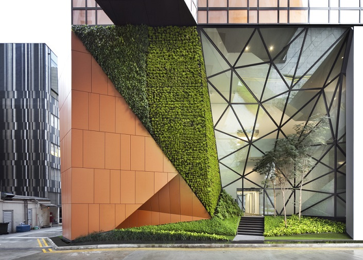 Contemporary Building Designs - Winners 2014  Contemporary Building Designs You Want to Visit Before You Die 48 North Canal Road by WOHA Singapore