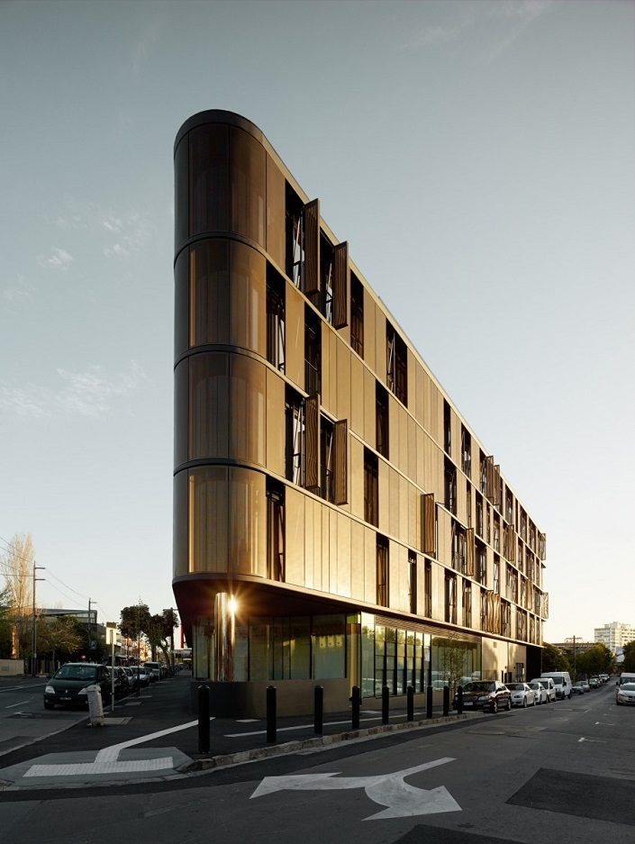 Contemporary Building Designs - Winners 2014  Contemporary Building Designs You Want to Visit Before You Die Luna Apartments by Elenberg Fraser Australia
