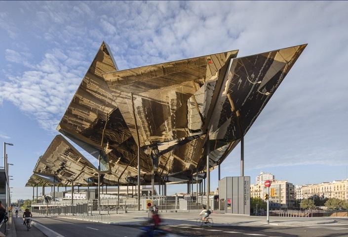 Contemporary Building Designs - Winners 2014  Contemporary Building Designs You Want to Visit Before You Die Mercat Encants by b720 Fermin Vazquez Arquitectos Barcelona Spain