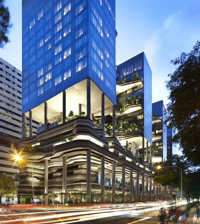 Contemporary Building Designs - Winners 2014  Contemporary Building Designs You Want to Visit Before You Die PARKROYAL on Pickering by WOHA Singapore