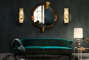 Brass Trend Alert! Home Decor Novelties at ICFF 2014  brass-trend-alert-home-decor-novelties-at-ICFF-2014-kaamos-mirror brass trend alert home decor novelties at ICFF 2014 kaamos mirror