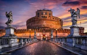 Best Design Destination: Rome Castel San  t Angelo 300x188