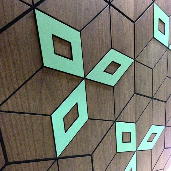 Best 2015 Design Events: NEOCON! Wood Neon NEOCON Chicago