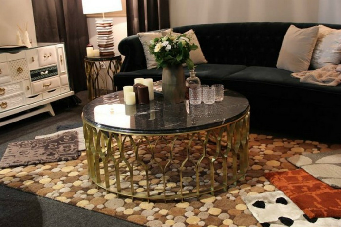 iSaloni 2014 the best so far  2014 Best Design Events Review: iSaloni 2014 BRABBUs Higlights in Maison et Objet Paris 2014 MECCA center table e13908347957521