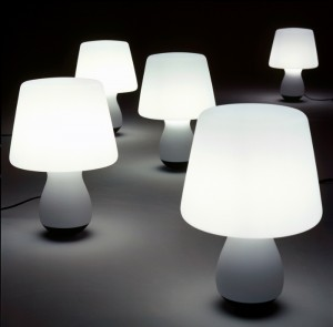 IMM Cologne 2015: the first 2015 event  IMM Cologne 2015: the first 2015 event Rocking mushroom lamp Ligne Roset 300x295