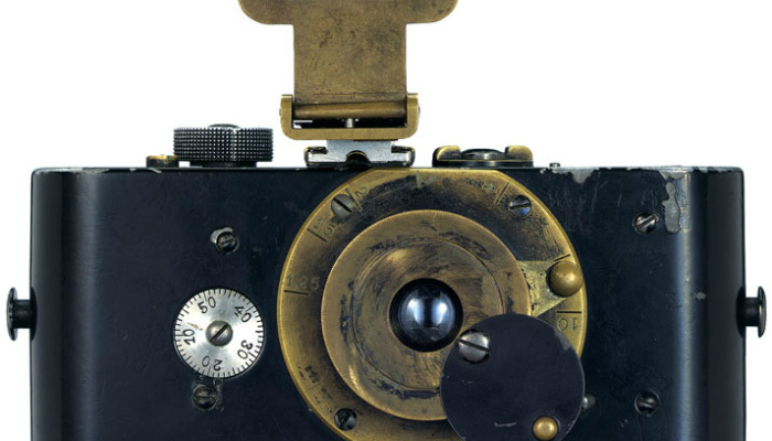 Shutters Wide Open: Leica Celebrates its 100 Years 1914 UrLeica front yatzer