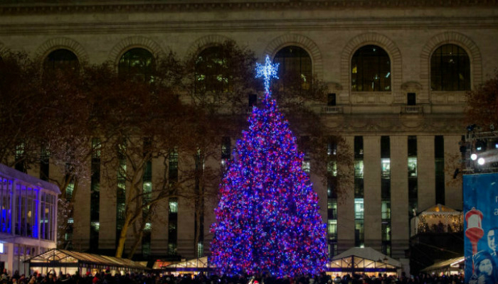 Best Christmas trees in New York Best Christmas trees in New York Madison Square Park 11