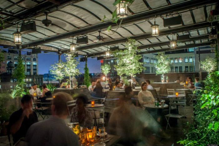 Best rooftop bars in NYC  Top 5 best rooftop bars in NYC Best rooftop bars in NYC Gallow Green