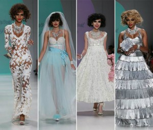 En Plein Air or the colors for Spring 2015  En Plein Air or the colors for Spring 2015 Betsey Johnson spring summer 2015 collection New York Fashion Week3 300x256