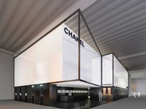 IMPOSING DESIGN STANDS AT BASELWORLD  IMPOSING DESIGN STANDS AT BASELWORLD CHANEL BASEL STAND 300x225