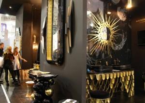 TOP COPPER FURNITURE OF MAISON&OBJET PARIS  TOP COPPER FURNITURE OF MAISON&OBJET PARIS Copper furniture maison objet paris maison valentina mirror guilt