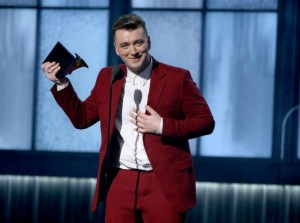Best Moments of The 2015 Grammy Awards  Best Moments of The 2015 Grammy Awards Fashion Design Weeks Best Moments of The 2015 Grammy Awards Sam Smith 300x223