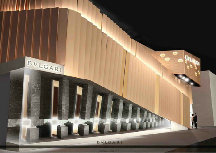IMPOSING DESIGN STANDS AT BASELWORLD