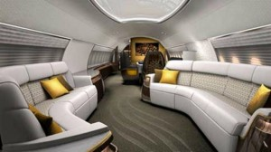 EXTREME LUXURY: INSIDE PRIVATE JETS INTERIORS  The most amazing private jets interiors in the world luxurious interior design of a private jet 1 300x168
