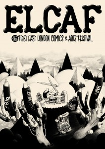 East London Comics and Arts Festival  East London Comics and Arts Festival ELCAFPOSTER 212x300