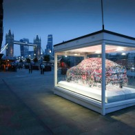 Jaguar Land Rover sculpture exhibitions at Milan's Fuorisalone 2015