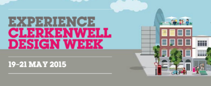 Best Design Events, Design Agenda, Calendar of design events ,Best of design events Design ,Upcoming design events ,Design Weeks ,Top design events, Clerkenwell, Clerkenwell Design Week, CDW. CDW 2015