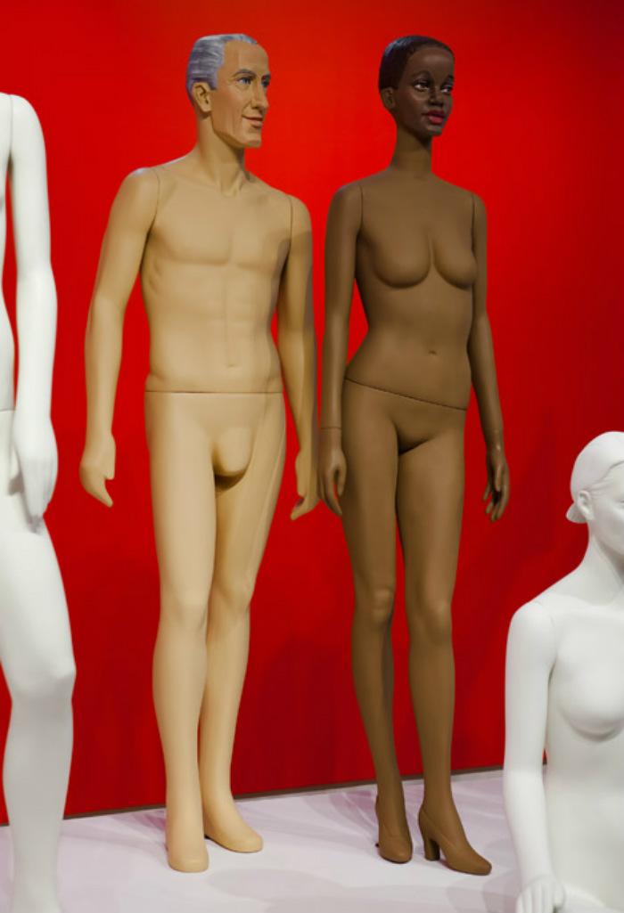 Meet Ralph Pucci´s fashion mannequins  Meet Ralph Pucci´s fashion mannequins Ralph Pucci Mannequin Exhibition dezeen 468 1
