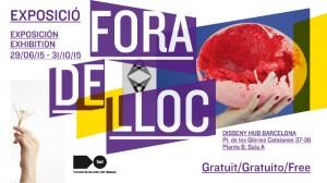FadFest Barcelona flyer Out of Place Fora de Lloc FAD