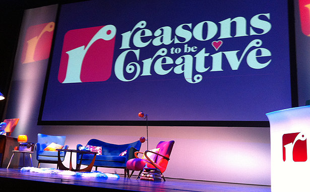 Reasons to be Creative, UK r2bcmain11
